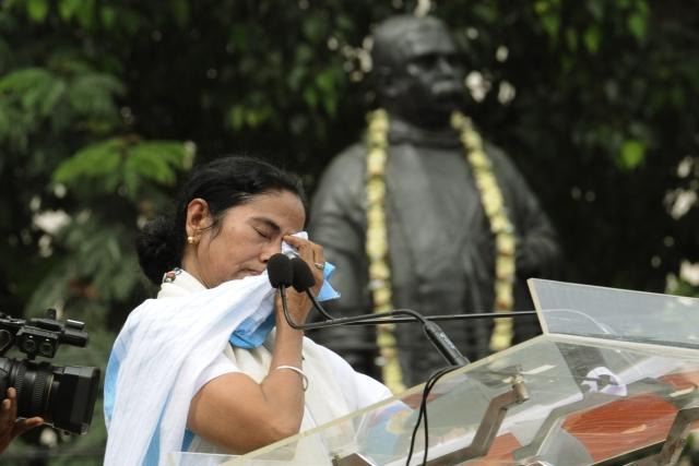 Mamata Banerjee (Subhendu Ghosh/Hindustan Times via GettyImages)