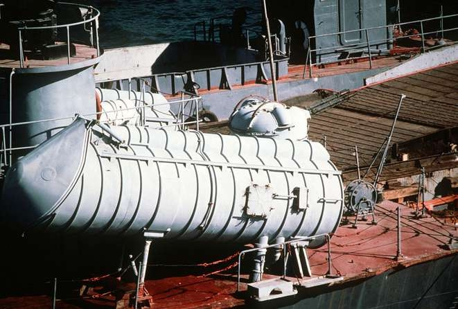 Styx missile launchers aboard a missile attack craft