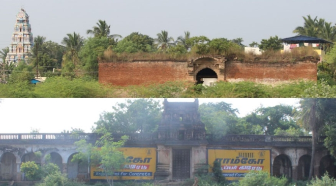 Two more Chatrams on the way to Mukthambal Chatram, Oratha Nadu. All are in various states of ruin and neglect.