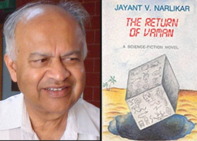 Astro-physicist Jayant Vishnu Narliakr and his sci-fi novel (1989)