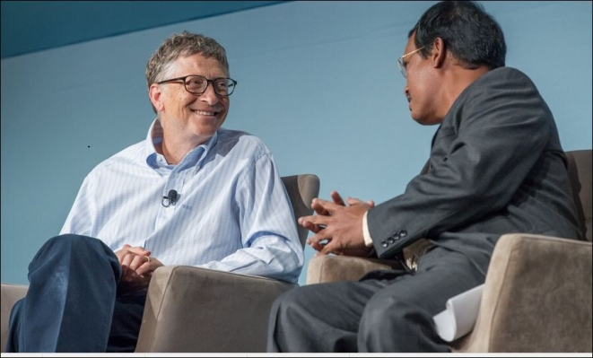 Bill Gates and Muruganantham