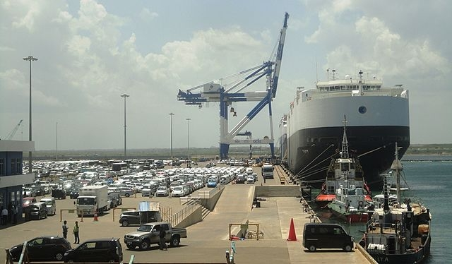 Hambantota harbour. (Wikimedia Commons)