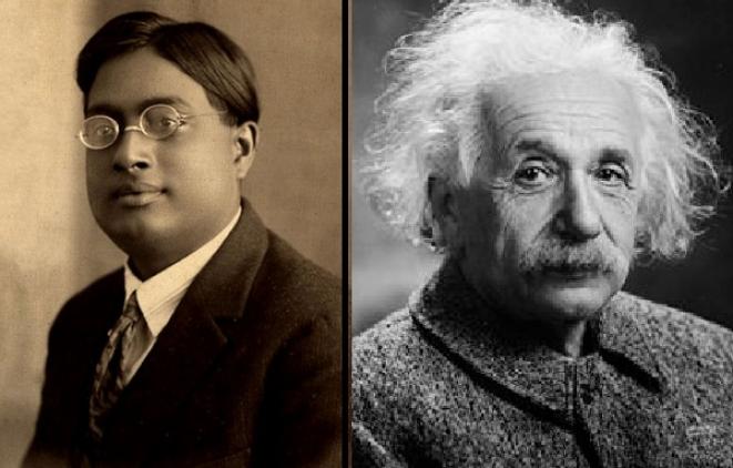 Bose and Einstein.