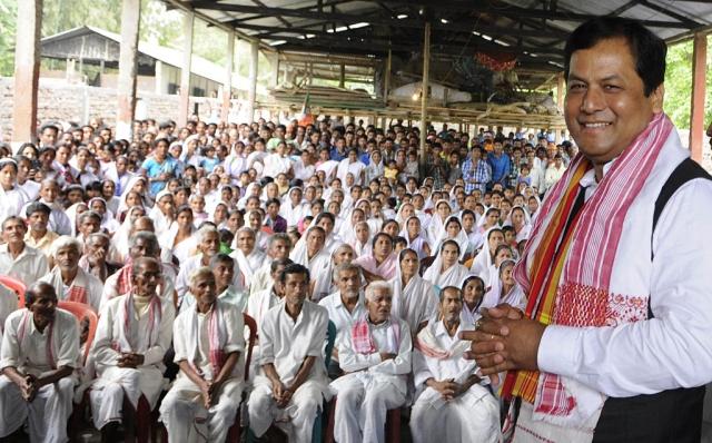 Sarbananda Sonowal (Subhendu Ghosh/Hindustan Times via Getty Images)