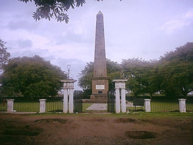 Bhima Koregaon Victory Pillar (Knitin777/Wikimedia Commons)