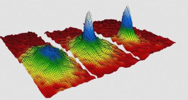 Bose Einstein Condensate : BEC (Courtesy : University of Colorado)