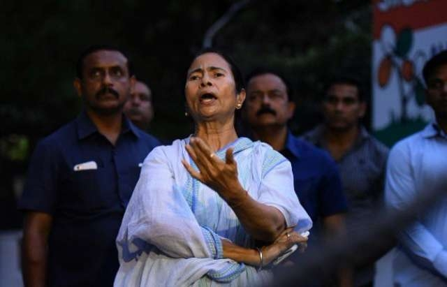 Mamata Banerjee's Colour Coercion: Bengal Is Being Painted Blue And White